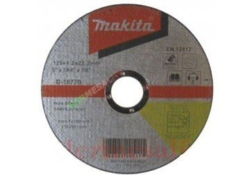 115 x 1.2 x 22.2mm Đá cắt sắt Makita D-18764