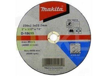 230 x 2.5 x 22.2mm Đá cắt Makita D-18699