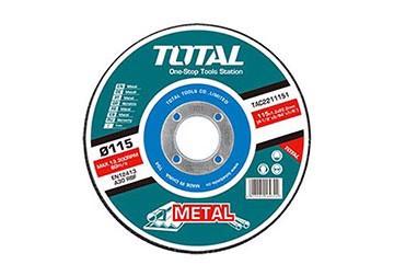 "4"" (100mm) Đá mài kim loại Total TAC2231001"