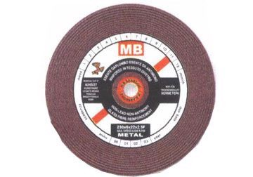 Đá mài 100x6x16 mm MB (Màu đỏ)
