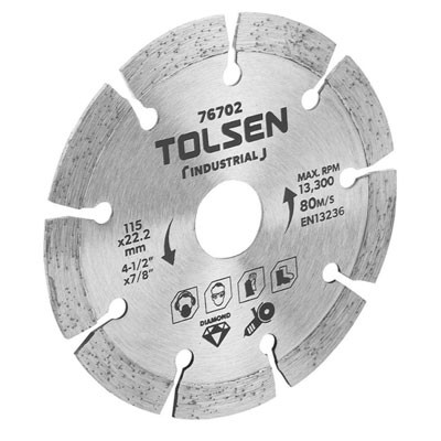 Đĩa cắt gạch kim cương Tolsen 76702
