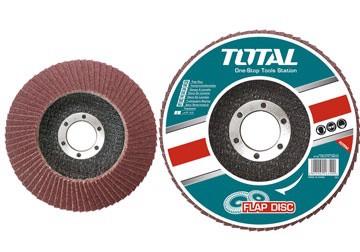 115x22mm Nhám xếp độ nhám 80 Total TAC631153