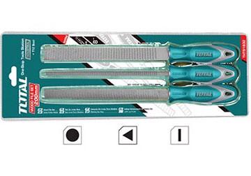 Bộ giũa gỗ 3 chi tiết Total THT918326