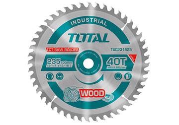 100mm Lưỡi cưa hợp kim TCT 40 răng Total TAC231115