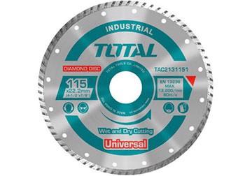 115x22mm Đĩa cắt gạch khô ướt Total TAC2131153