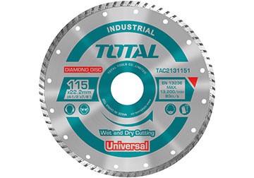 125x22mm Đĩa cắt gạch khô ướt Total TAC2131253