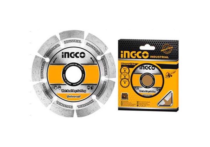 """180(7"""")x22.2mm Đĩa cắt gạch khô INGCO DMD011802"""