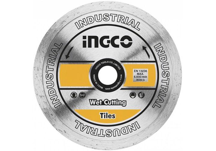 """180(7"""")x22.2mm Đĩa cắt gạch ướt INGCO DMD021801"""