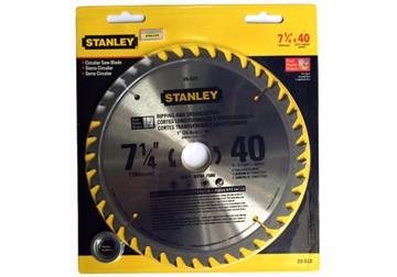 184 x 25.4 x 40T Đĩa cưa gỗ hợp kim 40 răng Stanley 20-522