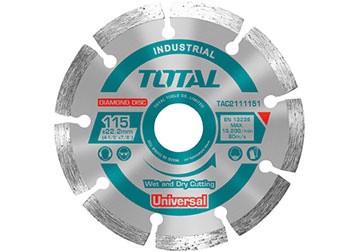 230x22mm Đĩa cắt gạch khô Total TAC2112303