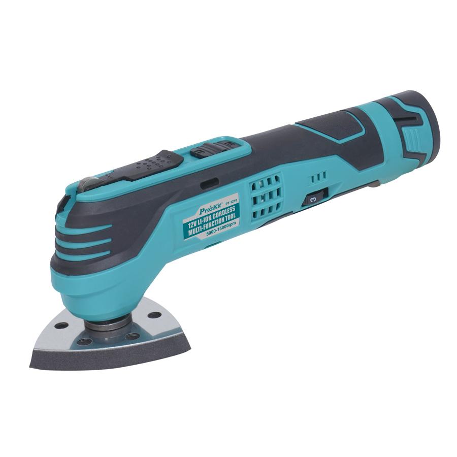Máy cắt chà đa năng cầm tay dùng pin Pro'skit PT-1210F