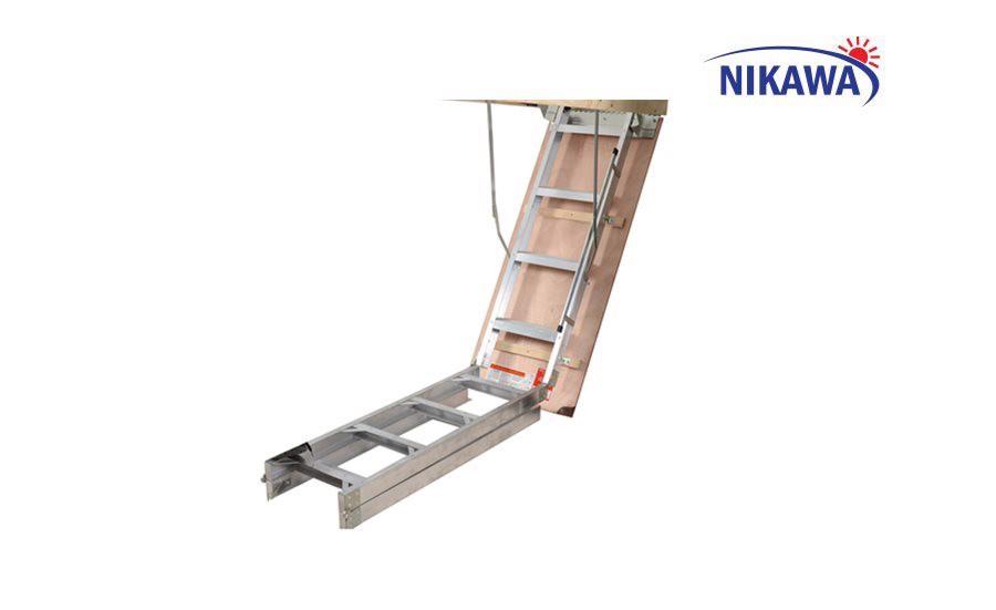 Thang nhôm gác xếp Nikawa LDA-2210