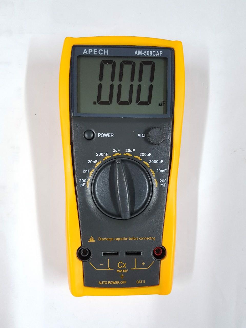 Đồng hồ đo tụ điện  APECH AM-568CAP