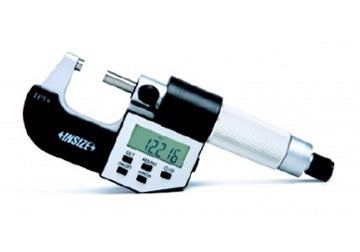 0-25mm Panme đo ngoài điện tử IP54 Insize 3100-25