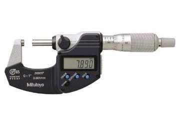 025mm Panme đo ngoài điện tử Mitutoyo 29334030