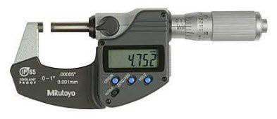 025mm Panme đo ngoài điện tử Mitutoyo 293340