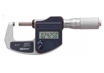 025mm Panme đo ngoài điện tử Mitutoyo 29383130