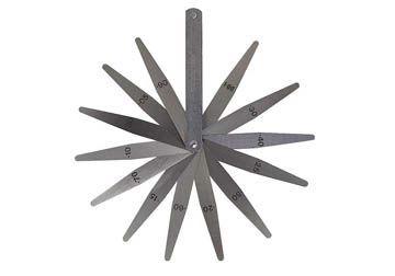 0.05-1.00mm Dưỡng đo độ dày 13 lá Moore Wright MW389M