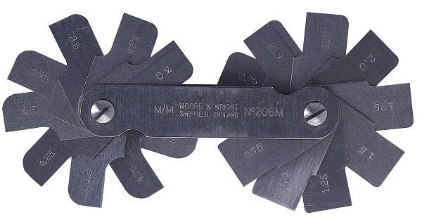 5,5-13mm Dưỡng đo bán kính Moore Wright MW206MA