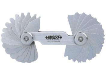 7mm Dưỡng đo bán kính 17 lá Insize 4801-17