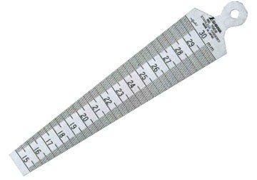 15-30mm Dưỡng đo lỗ Shinwa 62605