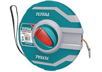 30m Thước dây làm bằng sợi thủy tinh TOTAL TMTF12306