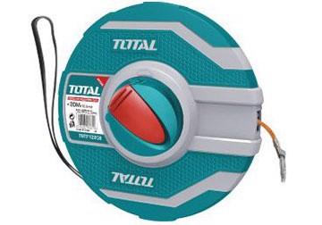 20m Thước dây làm bằng sợi thủy tinh TOTAL TMTF12206