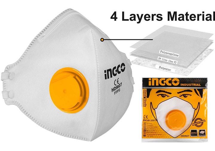 Khẩu trang chống bụi INGCO HDM07