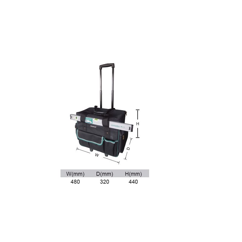 """Túi đựng dụng cụ có bánh xe 19"""" Sata 95-188 (95188)"""