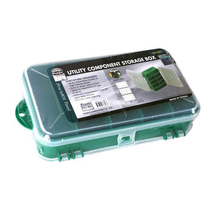 Hộp plastic lưu trữ linh kiện Pro'skit 103-132C