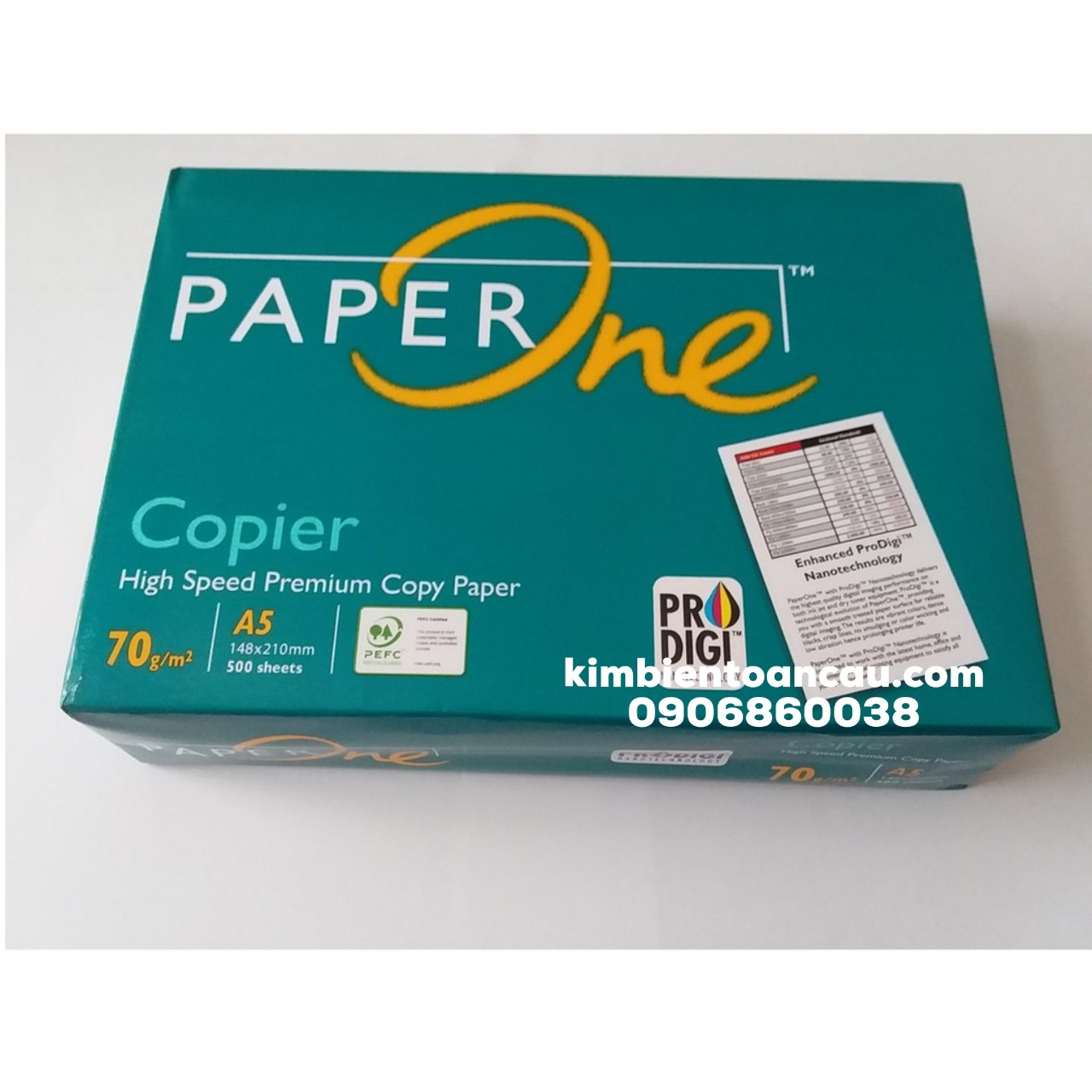 Giấy A5 Paper One 70