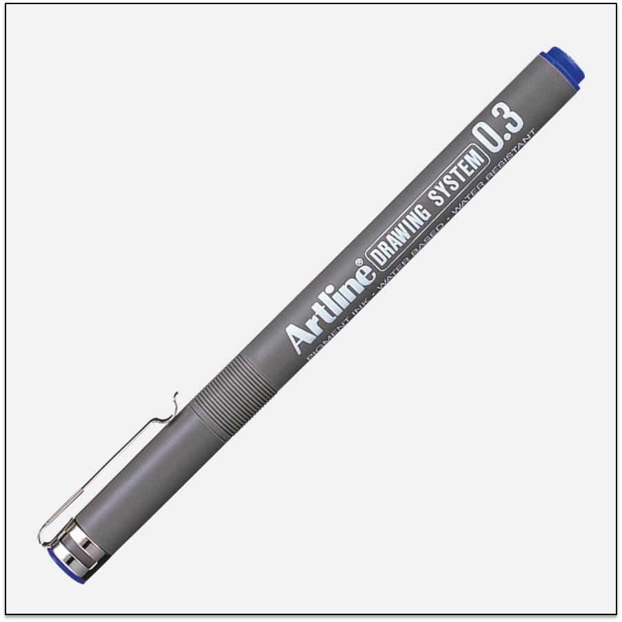 Bút kĩ thuật chống lem nét trung bình EK - 233