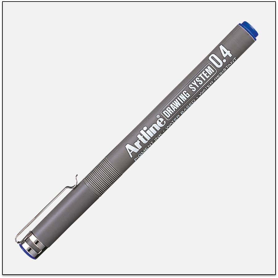 Bút kĩ thuật chống lem nét trung bình EK - 234