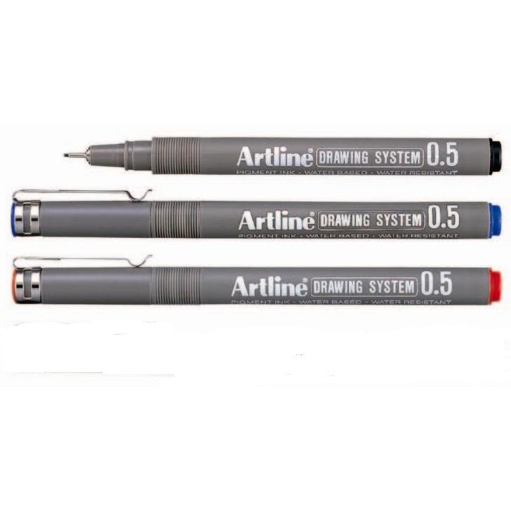 Bút kĩ thuật chống lem nét trung bình EK - 235