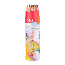 Bút chì màu cuốn giấy deli EC00327