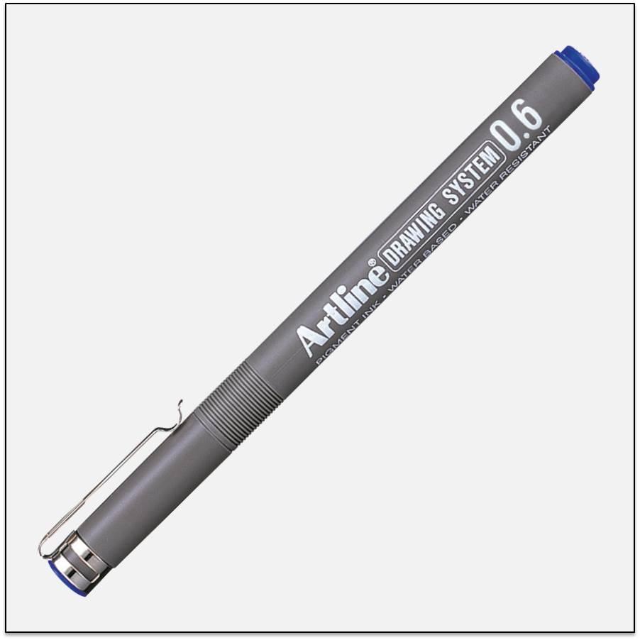 Bút kĩ thuật chống lem nét lớn EK-236
