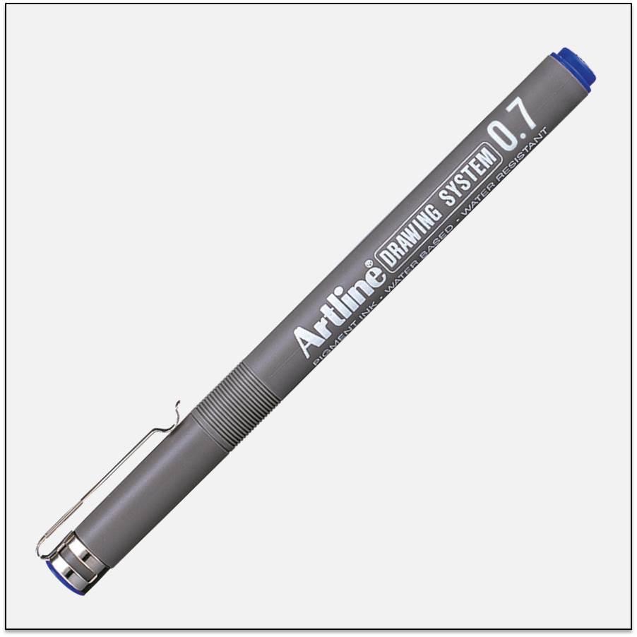 Bút kĩ thuật chống lem nét lớn EK-237