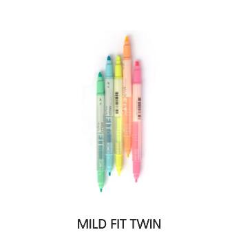 Bút Dạ Quang Lineplus Mild Fit Twin