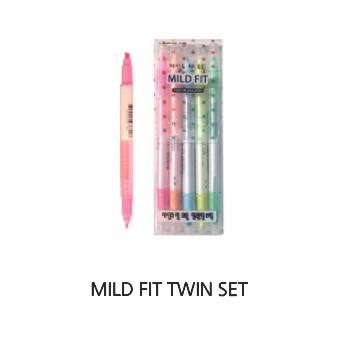 Bút Dạ Quang Lineplus Mild Fit Twin Set