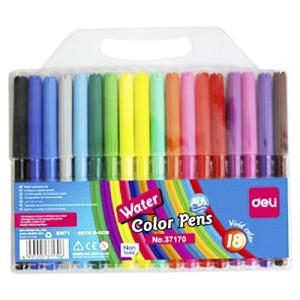 Bút Nước 18 Màu Deli - 37170