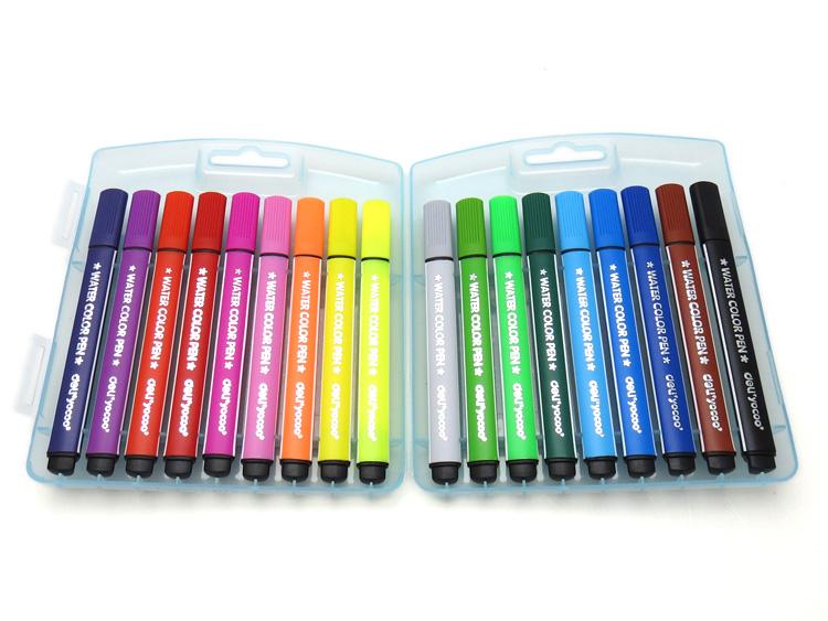 Bút Nước 18 Màu Deli - 7063