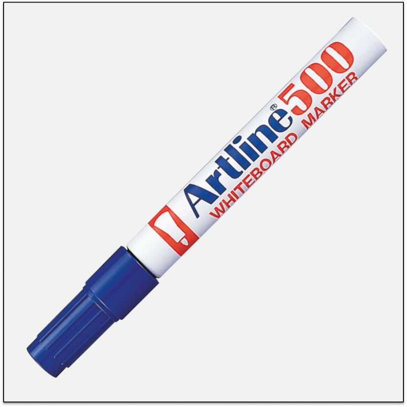 Bút viết bảng mực đậm Artline EK-500