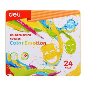 Bút chì màu deli EC00225