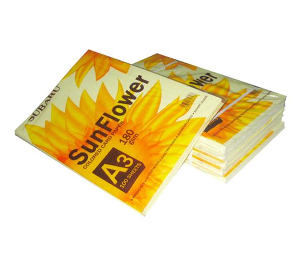 Giấy bìa màu A3 SunFlower