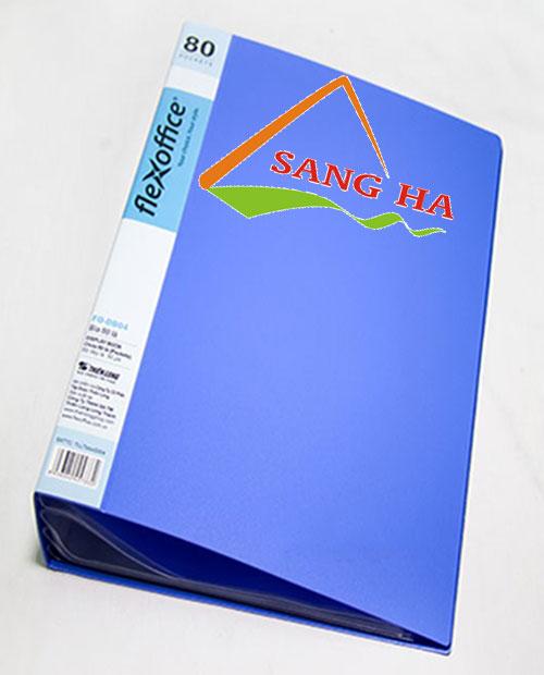Bìa Nhựa 80 Lá Thiên Long