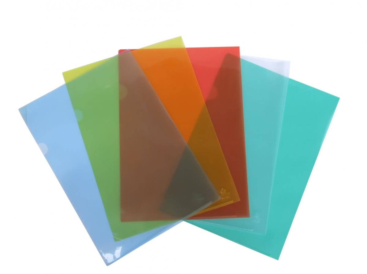 Bìa Nhựa Màu A4 TL