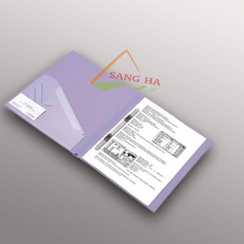 Bìa acco nhựa có kẹp plus (Letter File)