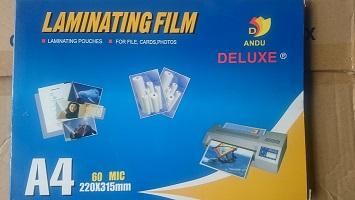 Bìa Ép Plastic 60MIC A4