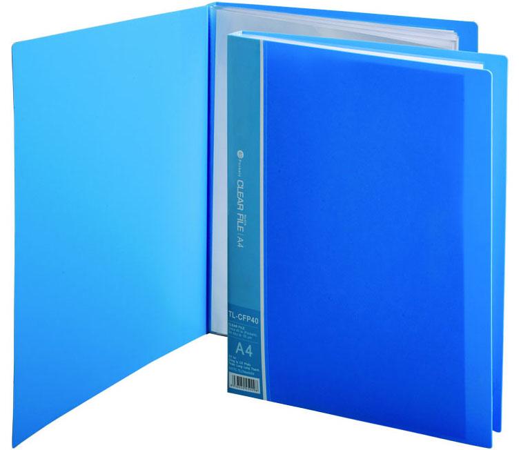 Bìa hồ sơ 40 lá - FL-40P -3 lớp plus