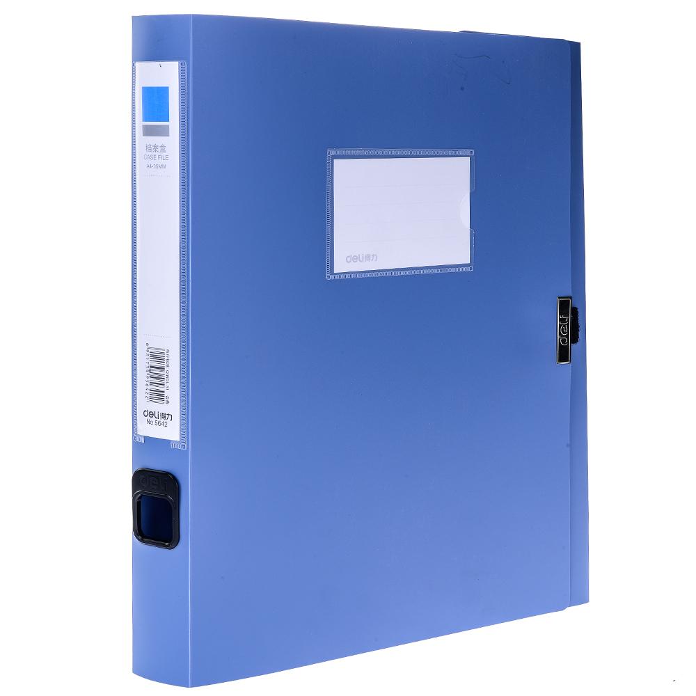 File Hộp Gập 3,5cm Deli - 5642